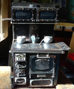 Salesman sample stove
