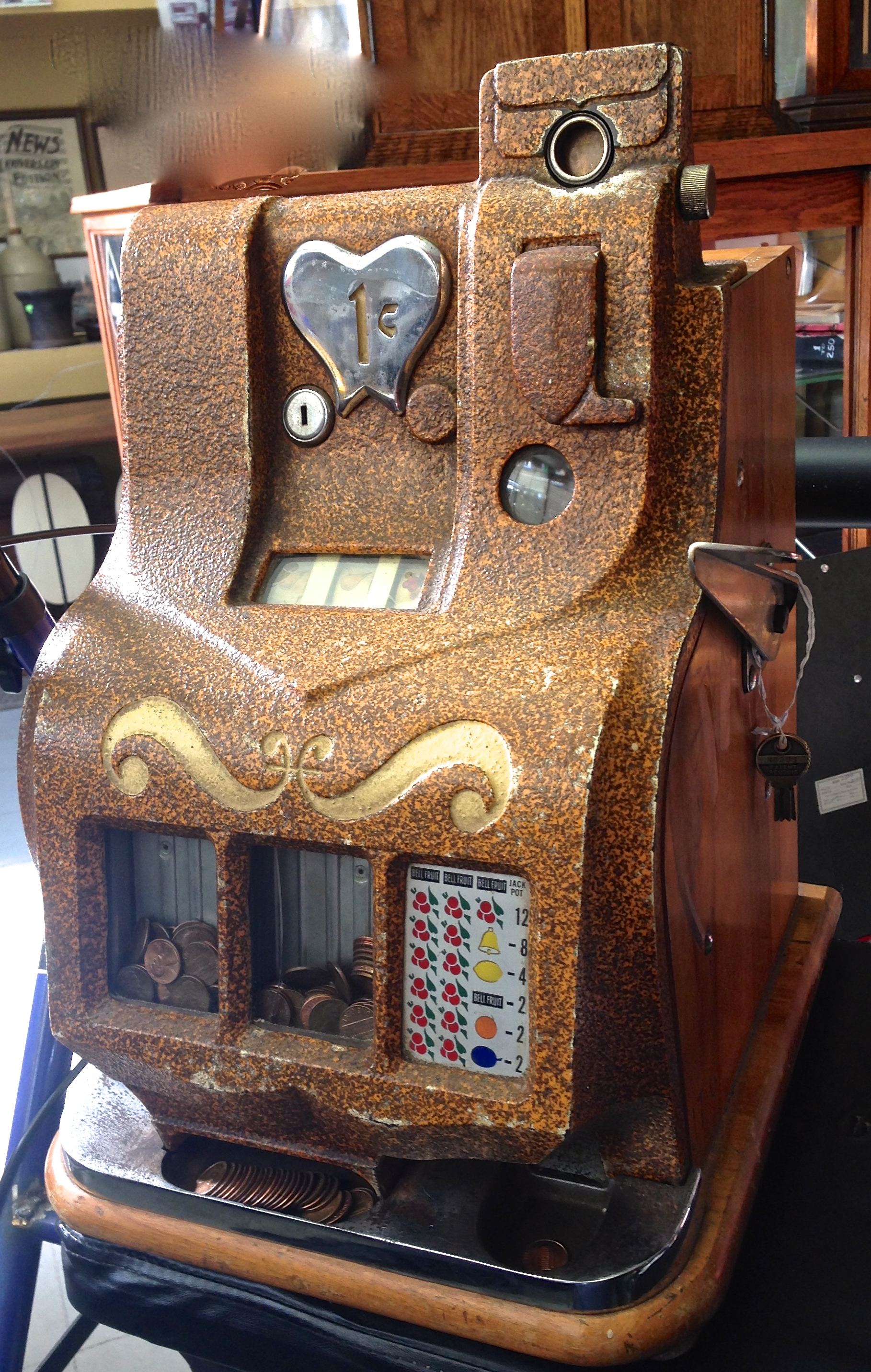 Slot Machines & Coin-op